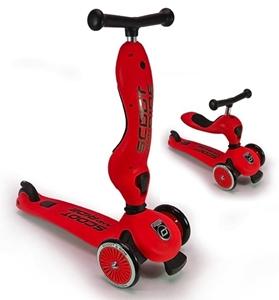Εικόνα της Scoot and Ride Ποδήλατο Ισορροπίας & Πατίνι 2 σε 1 HighWayKick 1, Red
