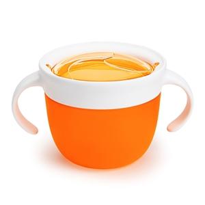Εικόνα της Munchkin Snack Ποτηράκι - Δοχείο για Σνακ 12m+, Πορτοκαλί