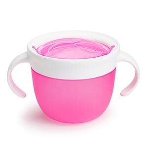 Εικόνα της Munchkin Snack Ποτηράκι - Δοχείο για Σνακ 12m+, Ροζ