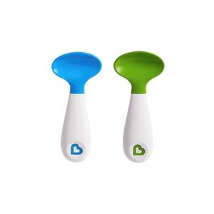 Εικόνα της Munchkin Σετ με 2 κουτάλια Scooper Spoon Λαχανί - Σιέλ