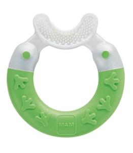 Εικόνα της MAM Bite & Brush, για Καθαρισμό Δοντιών, Πράσινο, 3+ Μηνών