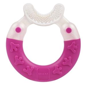 Εικόνα της MAM Bite & Brush, για Καθαρισμό Δοντιών, Ροζ, 3+ Μηνών