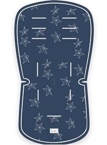 Minene Κάλυμμα Πικέ 3D Blue Stars