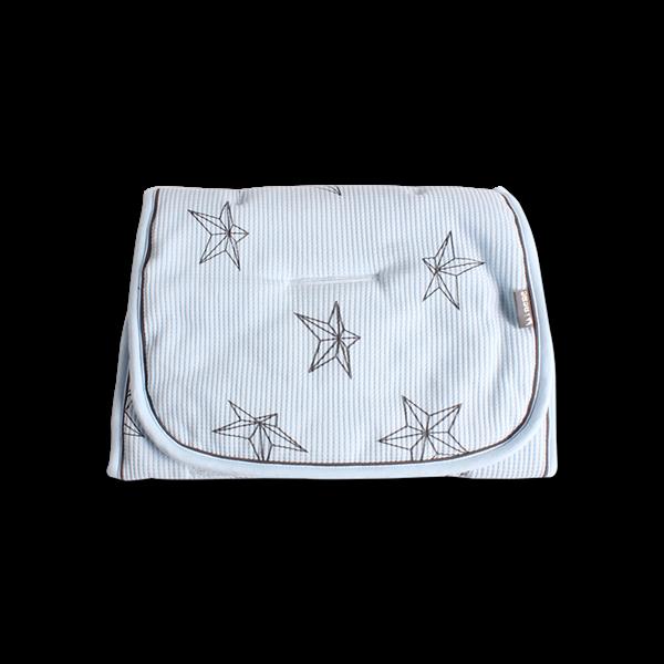 Minene Κάλυμμα Πικέ 3D Light Blue Stars