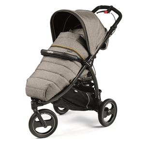 Peg Perego Τρίροδο Καρότσι Book Cross Completo, Luxe Grey