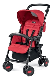 Peg Perego Καρότσι Παιδικό Aria Shopper, Mod Red