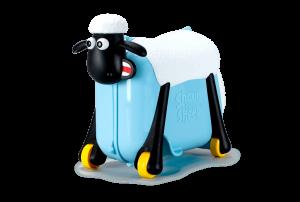 Shaun the Sheep βαλίτσα ταξιδιού, περπατούρα, παιχνιδόκουτο γαλάζιο