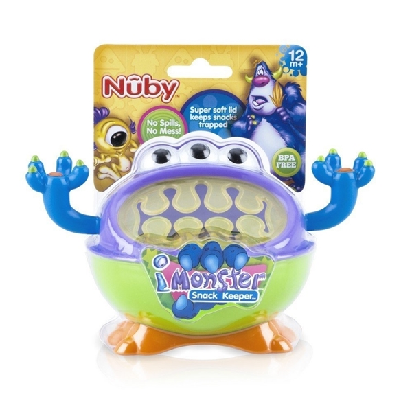 Nuby Snack Keeper, Monster