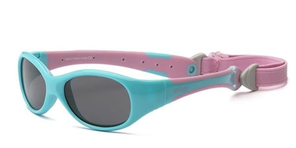 Real Shades Γυαλιά Ηλίου Explorer Baby, 0-2 Ετών, Aqua/Pink