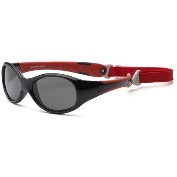 Real Shades Γυαλιά Ηλίου Explorer Baby, 0-2 Ετών, Black/Red