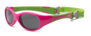 Real Shades Γυαλιά Ηλίου Explorer Baby, 0-2 Ετών, Pink/Lime