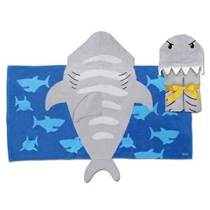 Παιδική πετσέτα με κουκούλα, Shark