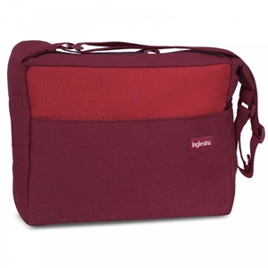 Inglesina Trilogy Bag, Comfort Touch, RUBY RED
