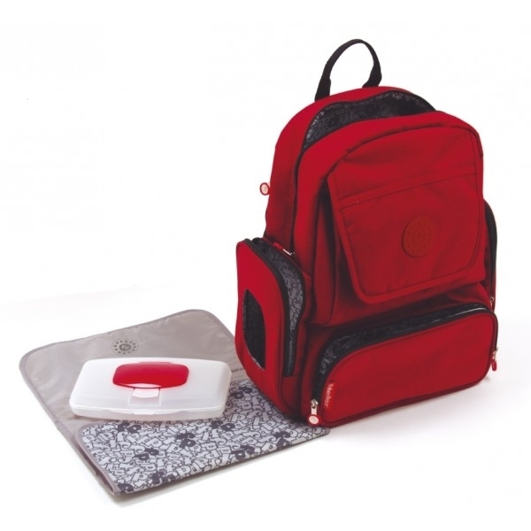 Fisher Price Τσάντα Αλλαγής Mama BackPack, Red