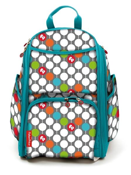 Fisher Price Τσάντα Αλλαγής Diaper BackPack, Dots