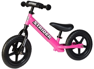 Strider Παιδικό Ποδήλατο Ισορροπίας, Pink