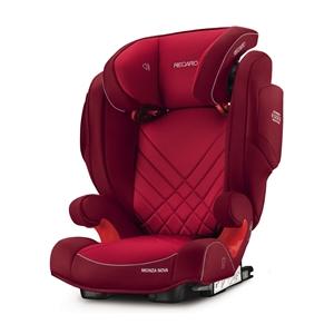 Recaro Παιδικό Κάθισμα Αυτοκινήτου Monza Nova 2 SeatFix, Indy Red
