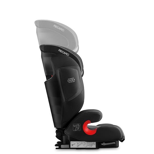Recaro Παιδικό Κάθισμα Αυτοκινήτου Monza Nova 2 SeatFix, Performance Blac