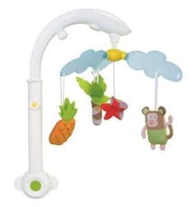 Taf Toys Μουσικό Παιχνίδι Κούνιας Tropical Mobile