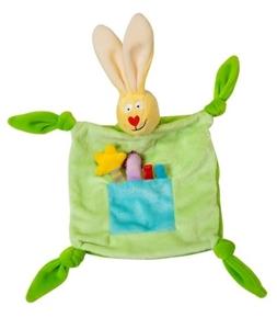 Taf Toys Πανάκι Αγκαλιάς Rabbit Blankie, Green