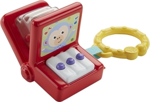 Fisher Price Κουδουνίστρα Ακορντεόν #DRD88