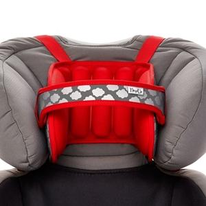 NapUp™ Μαξιλάρι στήριξης κεφαλιού για κάθισμα αυτοκινήτου 1-9 ετών, Κόκκινο