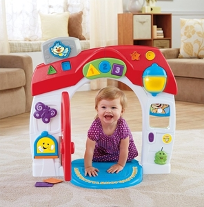 Fisher Price Εκπαιδευτικό Σπίτι Smart Stages #DHN76