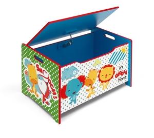 Fisher Price Ξύλινο Κουτί Παιχνιδιών
