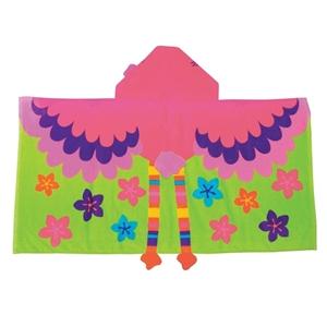 Παιδική πετσέτα με κουκούλα, Flamingo