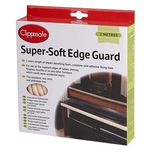 Clippasafe αφρώδες προστατευτικό για άκρες επίπλων 2M. Cream