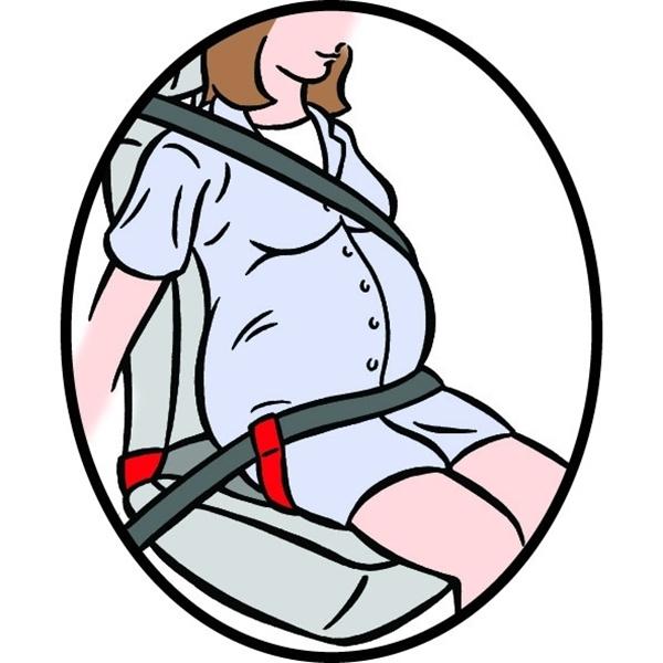 Clippasafe ζώνη προστασίας αυτοκινήτου για εγκύους