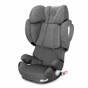 Cybex Παιδικό Κάθισμα Solution Q3 Fix Plus 15-36kg. Manhattan Grey