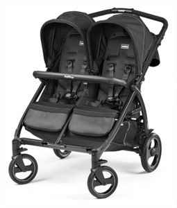 Peg Perego Καρότσι Διδύμων Book For Two, Onyx
