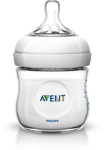 Philips Avent Natural Πλαστικό μπιμπερό 125ml.