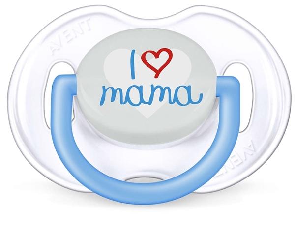 Philips Avent Μοντέρνα Πιπίλα Σιλικόνης Με Σχέδιο Για Αγόρι, 0-6 Μηνών