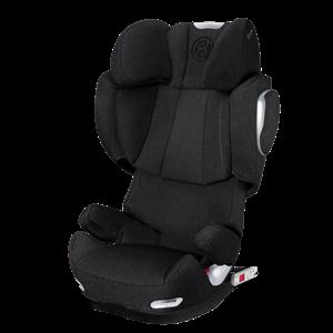 Cybex Παιδικό Κάθισμα Solution Q3 Fix Plus 15-36kg. Stardust Black