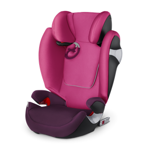 Cybex Παιδικό Κάθισμα Solution M-Fix, 15-36 Kg. Mystic Pink