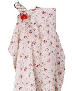 Minene Κάλυμμα Θηλασμού Μπεζ Ροζ Φλοραλ