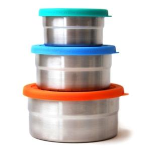 Ecolunchbox Seal Cup Trio Σετ 3 τεμαχίων Ανοξείδωτα Φαγητοδοχεία