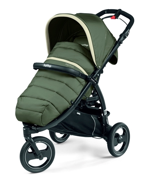 Picture of Peg Perego Τρίροδο Καρότσι Book Cross Completo, Breeze Kaki
