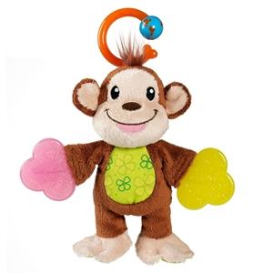 Εικόνα της Munchkin Teether Babies Κρίκος Οδοντοφυΐας, Μαϊμού