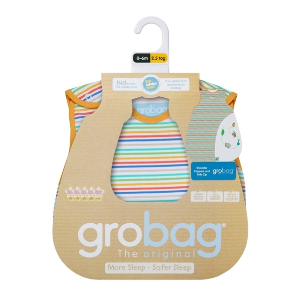 Picture of GroBag Υπνόσακος 2.5 tog Χειμωνιάτικος 0-6 μηνών Grow Your Own