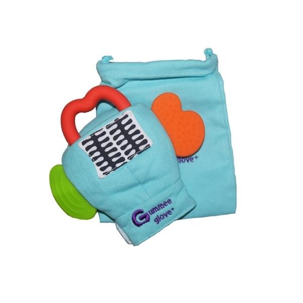 Picture of Gummee Glove Plus Γάντι οδοντοφυίας 6M+ Τυρκουάζ