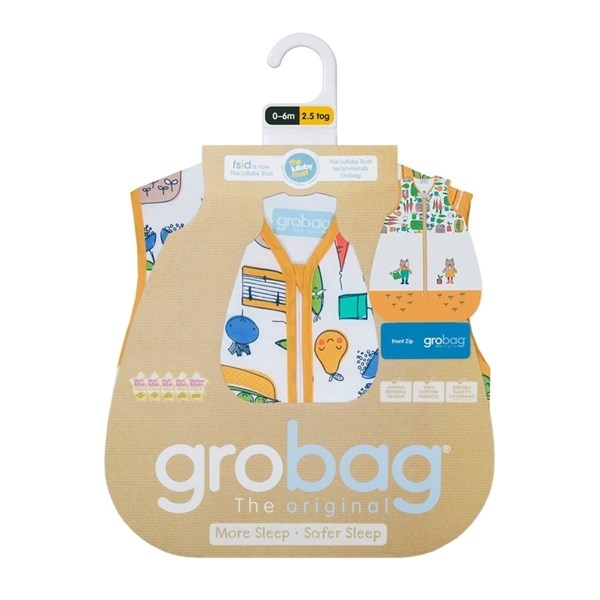 Picture of GroBag 2.5 tog 6-18 μηνών Grow Your Own