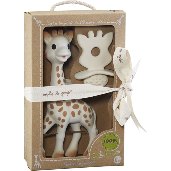 Picture of Sophie The Giraffe, So pure, Σόφι και Φυσικός Δακτύλιος Οδοντοφυϊας