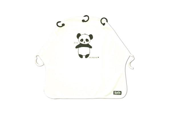 Picture of Kurtis Σκίαστρο Καροτσιου Panda Black & White
