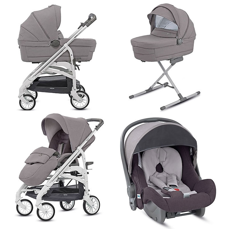 1a81196fc7a Inglesina Trilogy System Quattro Παιδικό Καρότσι, Sideral Grey ...
