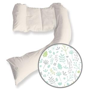 Εικόνα της Dreamgenii Μαξιλάρι Εγκυμοσύνης & Θηλασμού Nature Grey Green