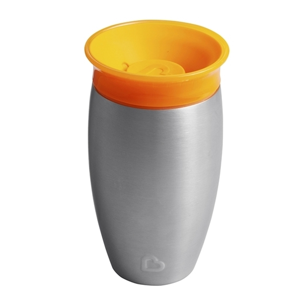 Picture of Munchkin Ανοιξείδωτο Ισοθερμικό Miracle 360° Sippy Cup 296ml Orange