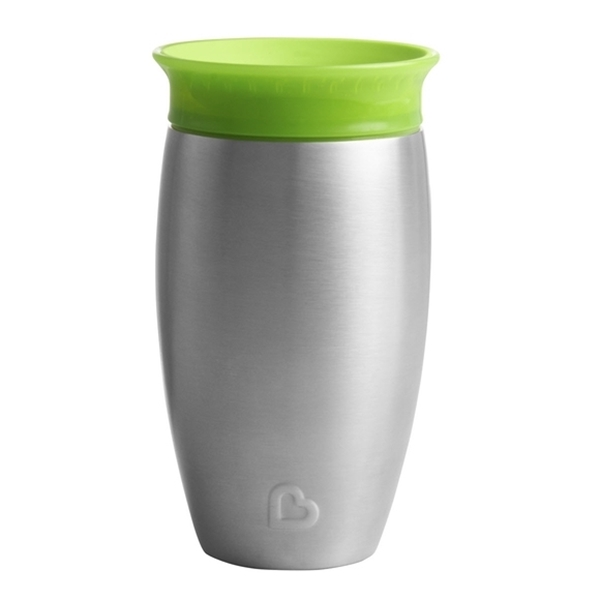Picture of Munchkin Ανοιξείδωτο Ισοθερμικό Miracle 360° Sippy Cup 296ml Green